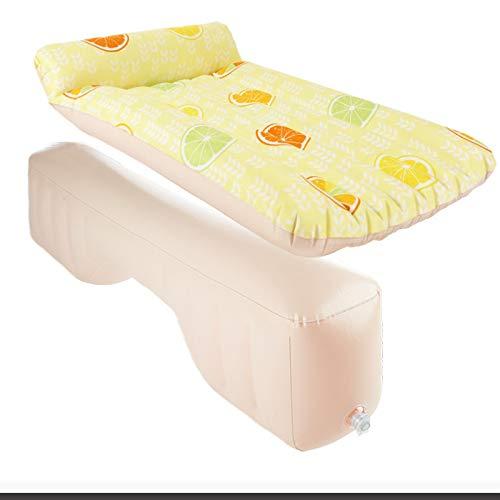 LUFEILI Auto aufblasbares Bett Mehrzweckauto mit Kopfbedeckung aufblasbares Bett im Luftpolsterbett