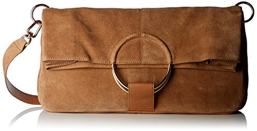 Liebeskind Berlin Damen Bordeaux Clutch, Braun (Toffee), 20x52x36 cm