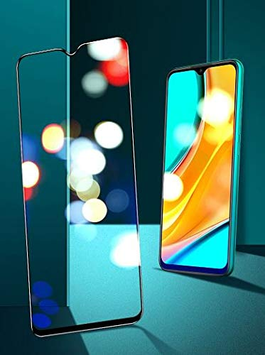 MagicDeal Edge to Edge Cover Tempered Glass for Redmi 9A 6D Curved Screen Guard Protector for Redmi 9A