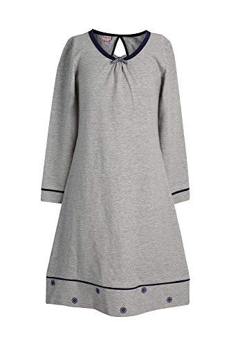La-V Mädchen Nachthemd Grau/Größe 164/170