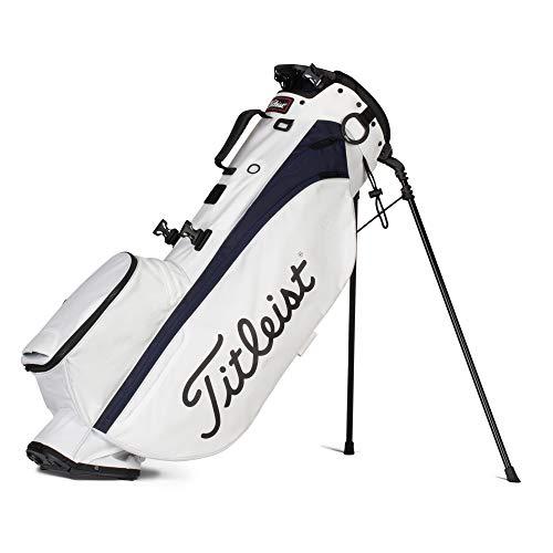 Titleist - Players 4 - Borsa da golf, colore: Bianco/Blu marino
