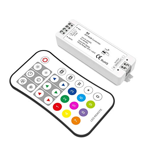 RF Remote 1024 Pixels WS2812B WS2811 LED Pixel Controller Addressable LED Strip RF Remote Controller for Dream Color Programmable LED Pixel Light