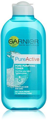 L Oreal Garnier Skin Pure - Tonico astringente purificante, 200 ml