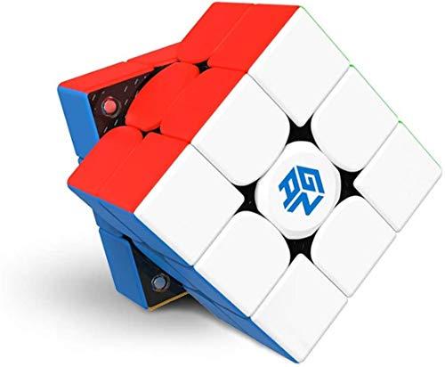 YING GAN 356 XS Nuevo GAN 356 XS de Tercer Orden Speed Cube 3x3x3 Juego Profesional Puzzle Cube (versión Final) Puzzle Cube, recientemente lanzado en 2021,Blanco