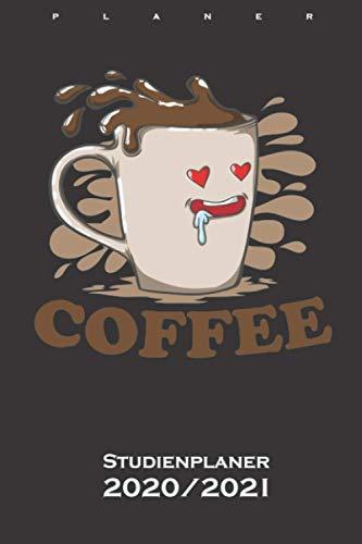 Partnerlook Coffee mit verliebter Tasse Studienplaner 2020/21: Semesterplaner (Studentenkalender) für verliebte, verheiratete oder Freunde