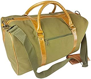 Unisex Canvas Duffel Bag Large Travel Work Tote Gym Overnight Weekender Handbag