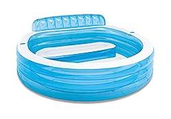 Intex 57190NP Swim Center Family Lounge Pool, 229 x 218 x 76 cm