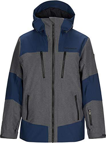 Peak Performance - Veste De Ski/Snow Balmaz J Decent Blue Homme - Homme - Taille m - Bleu
