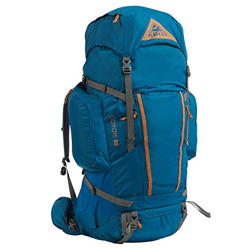 Kelty Coyote 60-105 Liter Backpack, Men's and Women's (2020 Update) - Hiking, Backpacking, Travel Backpack, Lyons Blue