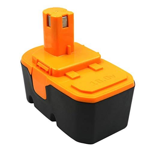 Batería de repuesto de 18V 1500mAh para RYOBI 130224028 130255004 ABP1801 ABP1803 BPP-1813 BPP-1815 BPP-1817 BPP-1817/2 BPP-1817M BPP-1820 P100