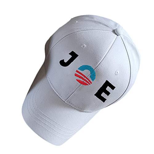 Gorra de las elecciones presidenciales de EE. UU. Gorra de béisbol bordada BIDEN Gorra deportiva al aire libre Sombrero para el sol Talla única Mejor reconstrucción