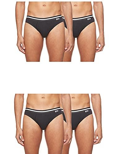 Dim Eco Slip 3+1 Gratuit Braguita, Negro (Noir/Noir/Noir/Noir 0Hz), Small (Talla Del Fabricante: 2) (Pack De 4) Para Hombre