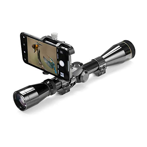 GUB Cellphone Mount Install on Rifle Scopes for Hunting Shooting Take Pictures Record Real-Time Videos Gun Sights Phone Holder
