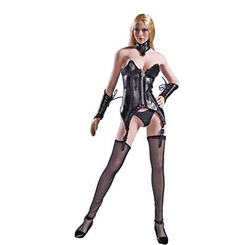 Bxwin Female Nahtloser Actionfiguren, 1/6 Actionfiguren Weiblich Military Soldat Figur Modell mit 14 beweglichen Gelenken