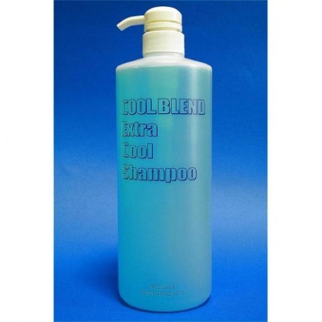 授業料添加剤ロッドクールブレンド エキストラクール シャンプー 1000MLボトルポンプ式