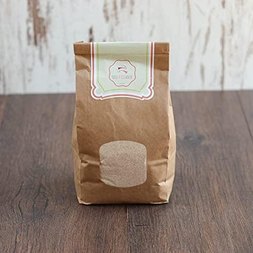 süssundclever.de® Bio Emmervollkornmehl | aus Deutschland | 1,0 kg | plastikfrei und ökologisch-nachhaltig abgepackt