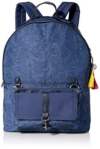 Sakroots Women's 2 in 1 Backpack, Indigo Spirit Desert, One Size