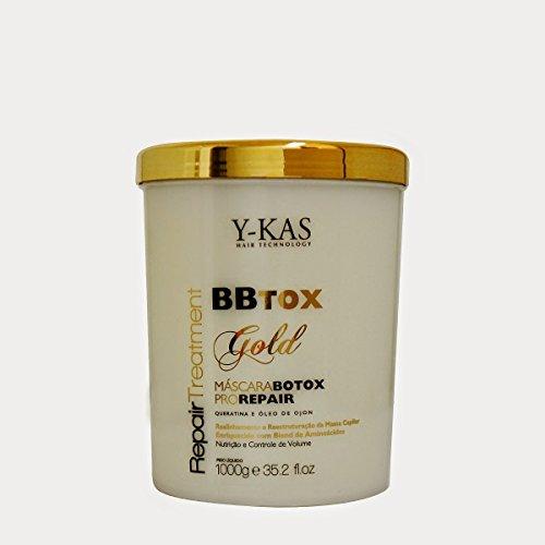 y-kas bbtox oro pelo Reparación Tratamiento Pro reparación máscara queratina y Ojon aceite 1kg
