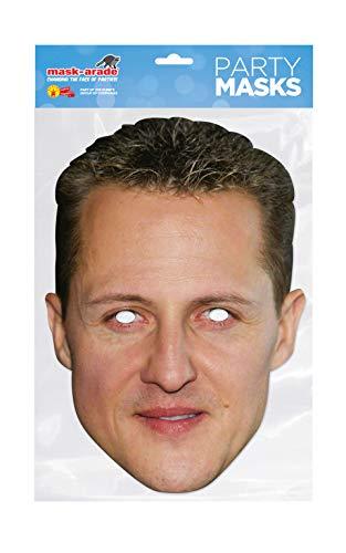 Masque carton Michael Shumacher