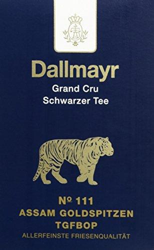 Dallmayr Grand Cru Schwarztee - Nr. 111 Assam Goldspitzen G2, 1er Pack (1 x 100 g)