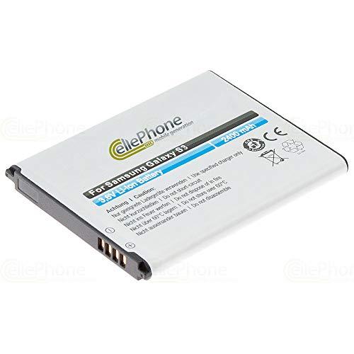 cellePhone Akku Li-Ion kompatibel mit Samsung Galaxy S3 (GT-I9300) (Ersatz für EB-L1G6LLUCSTD)