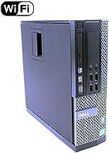 Dell Optiplex 9010 SFF Intel Core i5 3470 Processor 3.20Ghz Quad Core 8Gb Ram 500Gb HDD Small Form Factor Desktop Computer PC WiFi Wireless Windows 10 Professional 64Bit (Renewed)