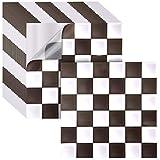 Irich - 18 Azulejos Adhesivos de 20 x 20 cm, Impermeables, cortables de PVC, Adhesivos para Suelo, baño, Cocina, Azulejos de Pared
