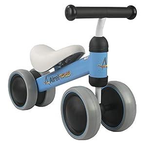 Airel Triciclo Sin Pedales | Correpasillos Bebé | Triciclo Sin Pedales Bebé | Triciclo Sin Pedales Plegable | Triciclo Sin Pedales Infantil | De 1 a 18 Meses (Azul Marino)