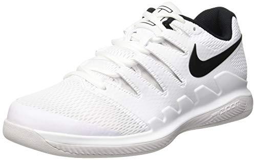 Nike Herren Air Zoom Vapor X CPT Tennisschuhe, Mehrfarbig (White/Black/Vast Grey 101), 45 EU