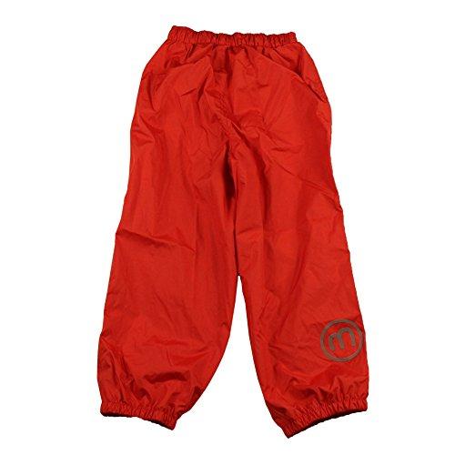 2SALES International S.A.(Parent) Minymo Kinder Unisex Regenhose, Alter 2-3 Jahre, Größe: 98, Farbe: Rot, 3623