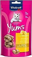 Vitakraft Cat Treats Cat Yums plus Cheese - 9 x 40g