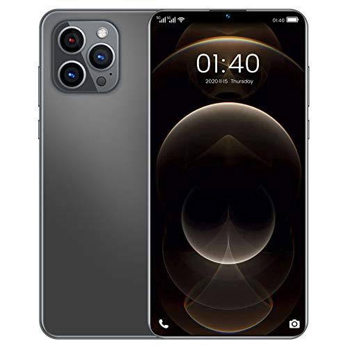 Homfure Versión Internacional Smartphone: teléfono con Doble SIM y Doble Modo de Espera Phone12 Pro MAX admite reconocimiento Facial