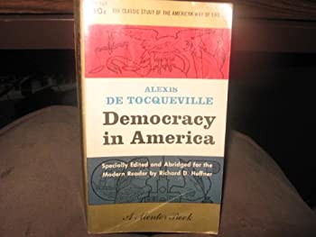 Paperback Democracy in America (Mentor Books) Book