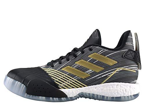 Adidas TMAC Millenium Hombre Basketball Trainers Sneakers (UK 8.5 US 9 EU 42 2/3, Core Black Metallic Gold EE3678)
