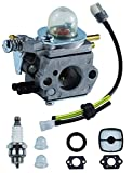 C1U-K52 Carburetor with 90152Y Repower Tune-Up Kit for Echo PE-2000 PE-2400 GT-2000 GT-2400 SRM-2100 SHR-210 SHC-1700 SHC-2100 PP-800 PP-1200 PP-1400 PPF-2100 PPT-2100 HCA-2400