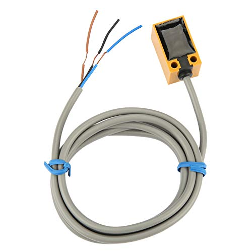 Proximity Switch, 5mm Metal Distance Measuring Inductive Proximity Sensor Switch DC 3 Wires NO PNP TL-Q5MB1 for Machine, Paper Making