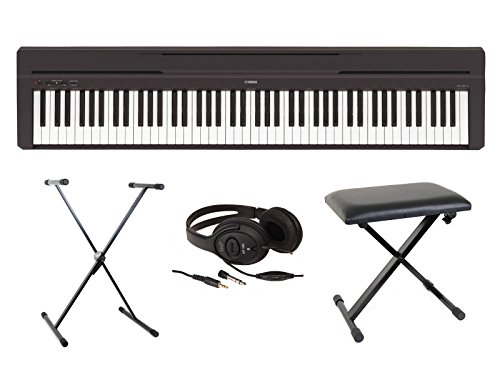 Piano digital Yamaha P45, pack completo de Piano digital portátil
