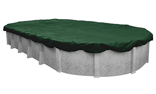 Robelle 321632-4 Dura-Guard Winter Pool Cover for Oval Above Ground Swimming Pools, 16 x 32-ft. Oval Pool