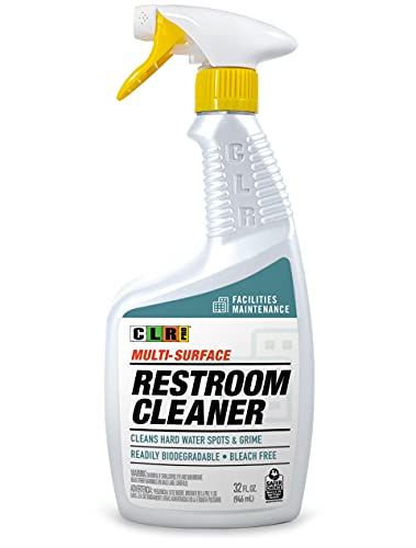 Product Image of the CLR PRO Industrial Multi-Purpose Restroom Cleaner, 32 Ounce Spray Bottle (Packaging May Vary)