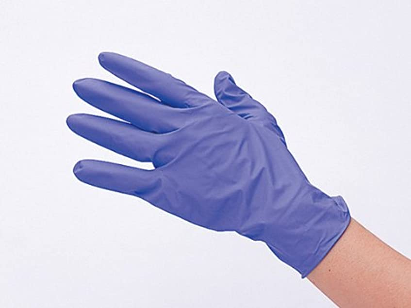 実行する幻滅船尾IMG ニトリル手袋 ラボグローブ2 (S, ラベンダー)