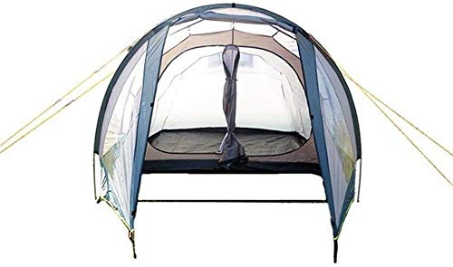 Lhak Portable outdoor tent Hiking camping tents 5-8 Safe tunnel waterproof outdoor men and women travel