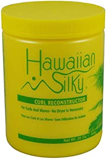 Hawaiian Silky Hawaiian silky curl reconstructor 20 ounce, Yellow, 20 Ounce