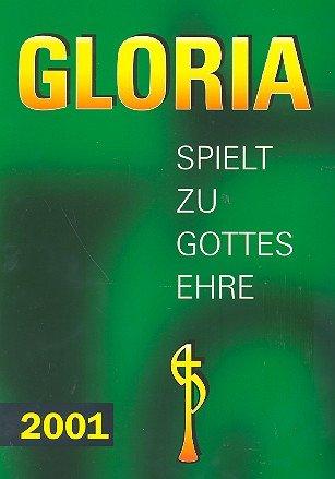 Gloria 2001: juego de honor de Dios para copa de trombón.