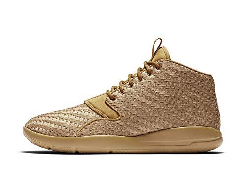 Nike Herren Air Jordan Eclipse Chukka Woven Sneaker, Gold - Weiß / Grau - Größe: 43 EU