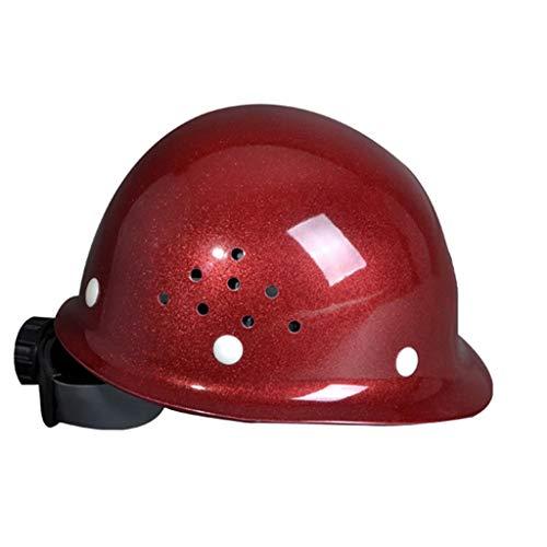 GY Casco de construcción: Transpirable Casco FRP Trabajos aéreos Construcción Casquillo de construcción /+*+/