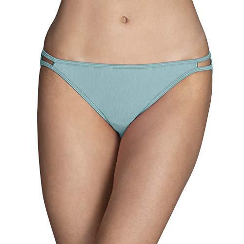 Vanity Fair Women's Illumination Bikini Panty 18108, NH Beachside Aqua, Large (7)