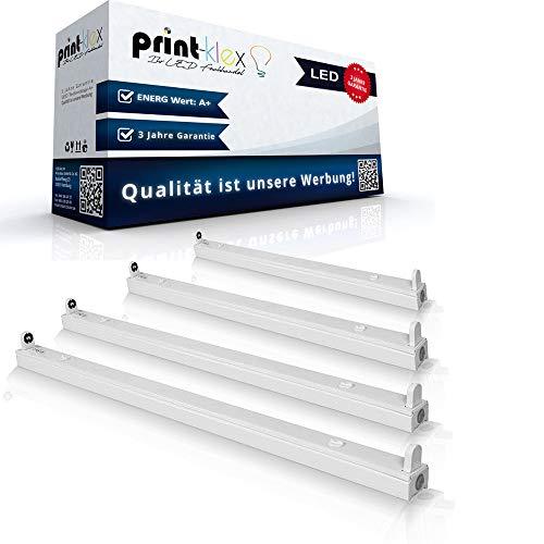 Einzelhalter für LED Röhren 150cm T8 G13 Fassung Träger Halterung ohne LED ohne Schutzabdeckung