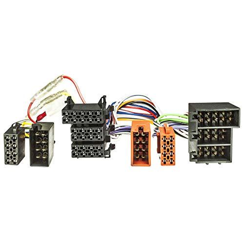 tomzz Audio 7339-001 T-Kabel ISO kompatibel mit Opel ISO 26 PIN bis 2004 zur Einspeisung von Freisprecheinrichtung ISO Verstärker für THB Parrot Dabendorf i-sotec Match