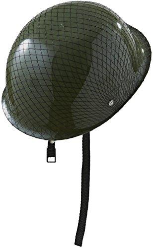 WIDMANN 0329U - Moderner Soldatenhelm mit Netz, Einheitsgröße