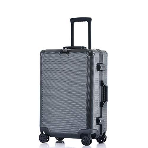 Aluminum Frame Luggage Durable PC Hardshell TSA Lock...